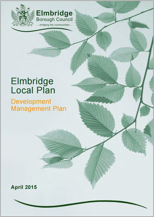 Development Management Plan Cover
